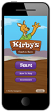 Kirby kids, phone app, phone game