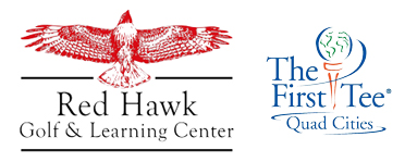 red hawk and first tee logo