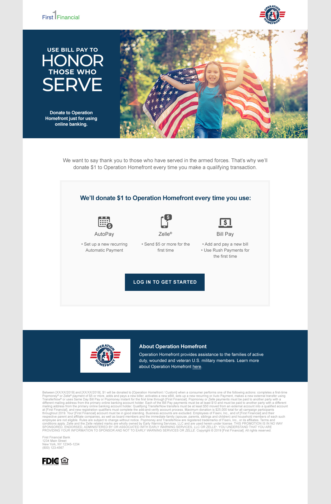 first financial bank online